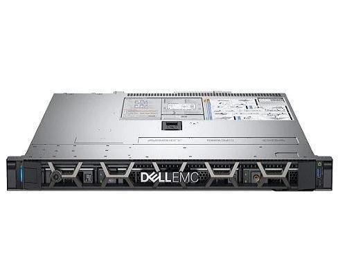 سيرفر باور إيدج مع معالج إنتل زيون 2124 وذاكرة رام بسعة 8 جيجا ومحرك أقراص صلبة HDD بسعة 2 تيرا موديل R340 رمادي