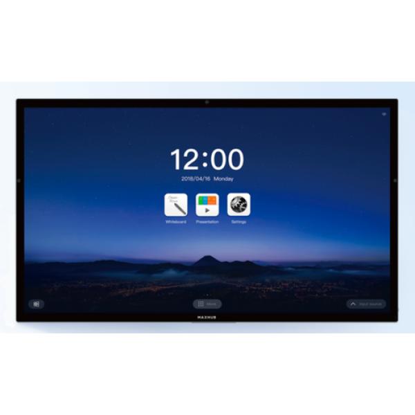 شاشة عرض تفاعلية من maxhub بتقنية UHD IPS متعددة اللمس مقاس 75 بوصة