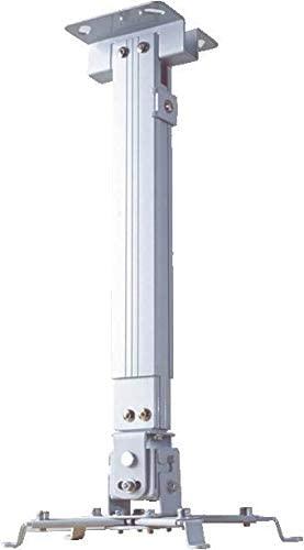 حامل سقفي لاجهزة البروجكتر طول 65 سم - ابيض