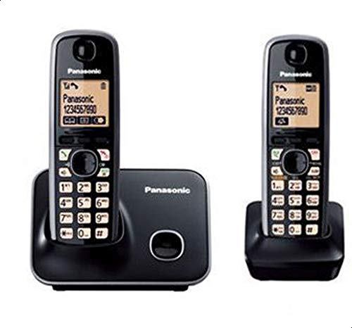 باناسونيك KX-TG3712 هاتف لاسلكي (اسود)