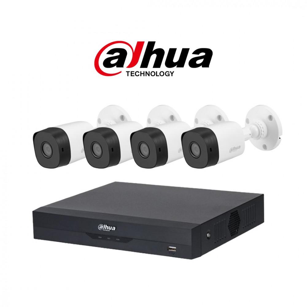 نظام 4 كاميرات 5 ميجـا عالي الدقة شامل التركيب