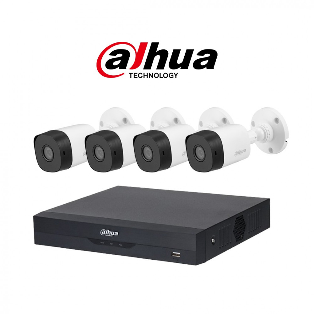 نظام 4 كاميرات 8 ميجـا عالي الدقة 4K  شامل التركيب